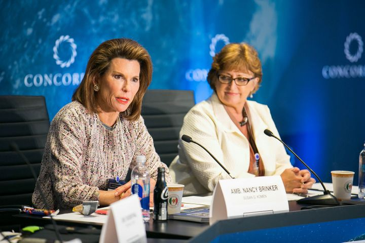 """<p>Remarks from Nancy G. Brinker, cancer advocate, global consultant, and founder, Susan G. Komen, and Susan Braun, Chief Executive Officer, V Foundation, during the """"Collaboration in Cancer Research"""" Strategic Dialogue at the 2016 Concordia Annual Summit.</p>"""