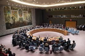 U.N. Security Council in Session