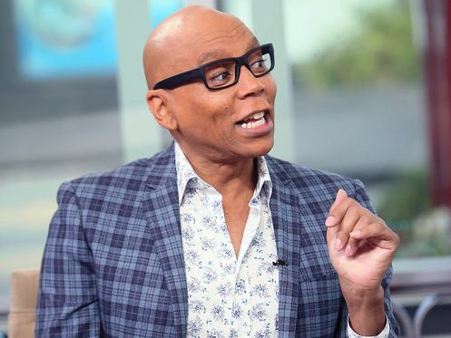 "RuPaul on ""Hollywood Today Live."""