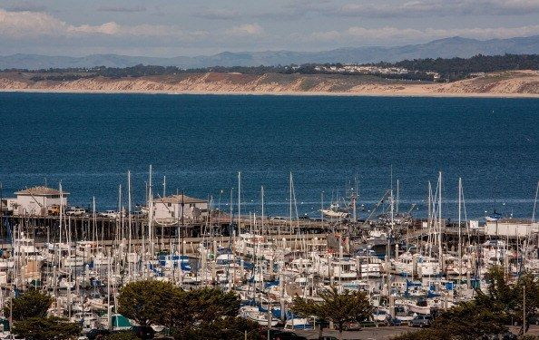 <p>Monterey's coastline</p>