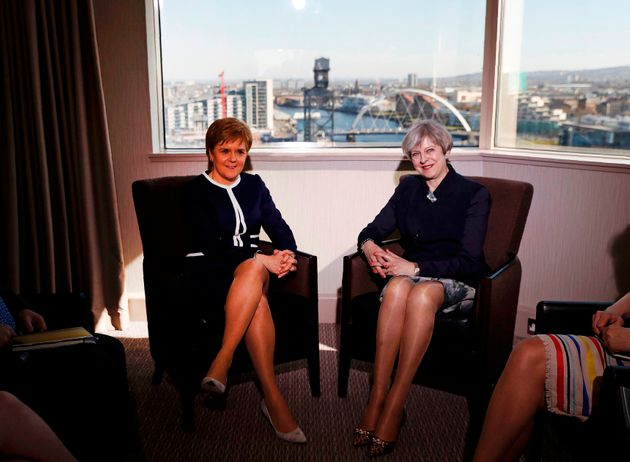 Tensions Between Theresa May And Nicola Sturgeon Explode Over Brexit And
