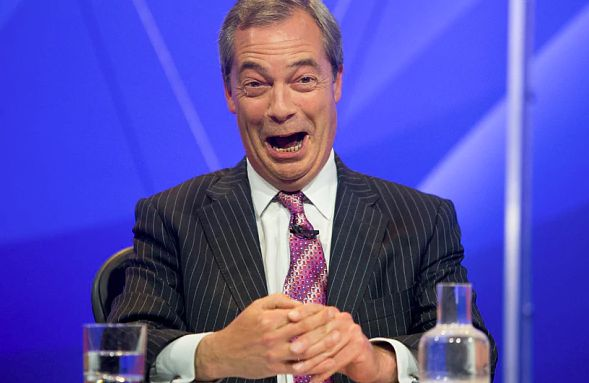 Ukip Appeared On A Quarter Of All Question Time Shows Since May 2010, Huff Post UK