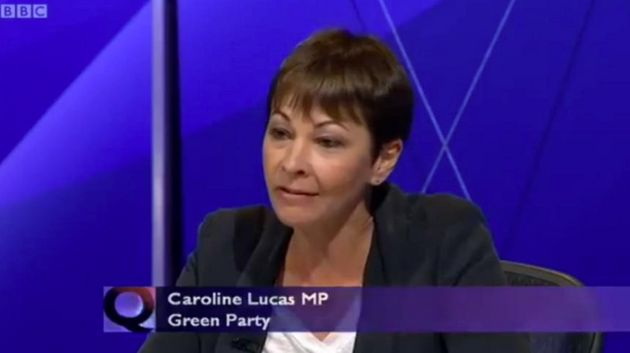 The Greens' only MP, Caroline