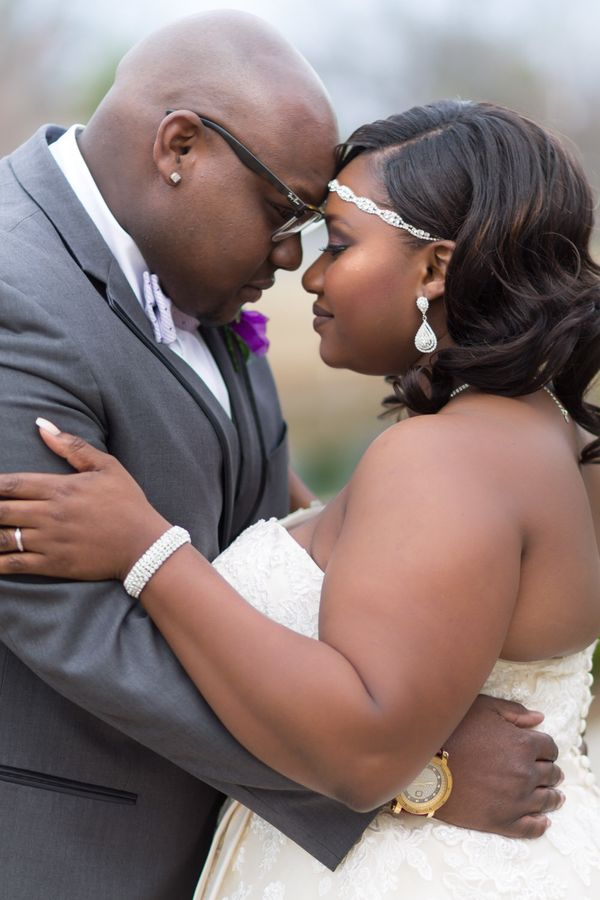 """""""Ingram and Kiani Dodd were married on March 11 at The Cannon Centre in Greer, South Carolina. This fun and gorgeous couple w"""