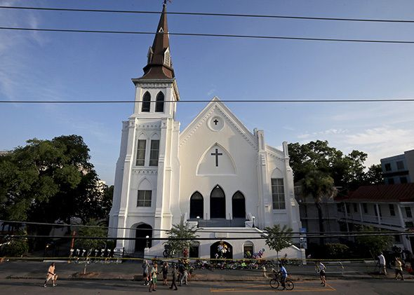 The Emanuel AME Church in Charleston, S.C..