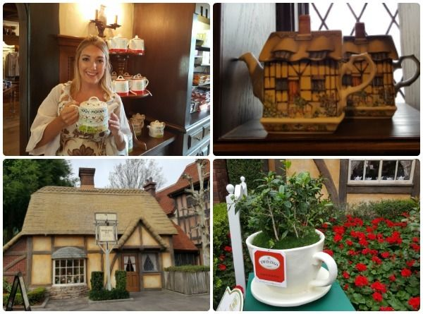 """Tea with Sophie in the """"United Kingdom."""""""