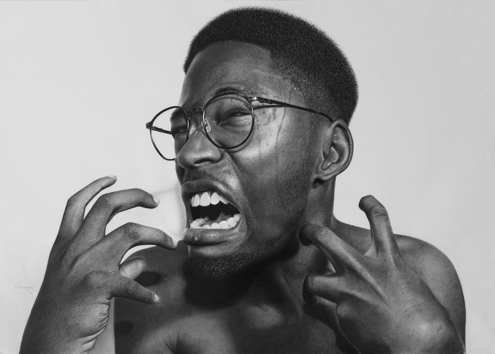 Wildly talented nigerian artist made this drawing without any training whatsoever
