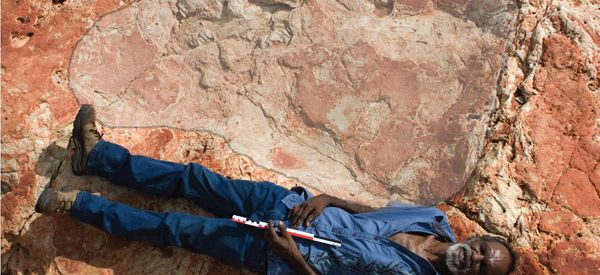 Scientists Just Revealed What May Be The Biggest Dinosaur Footprint Ever Found