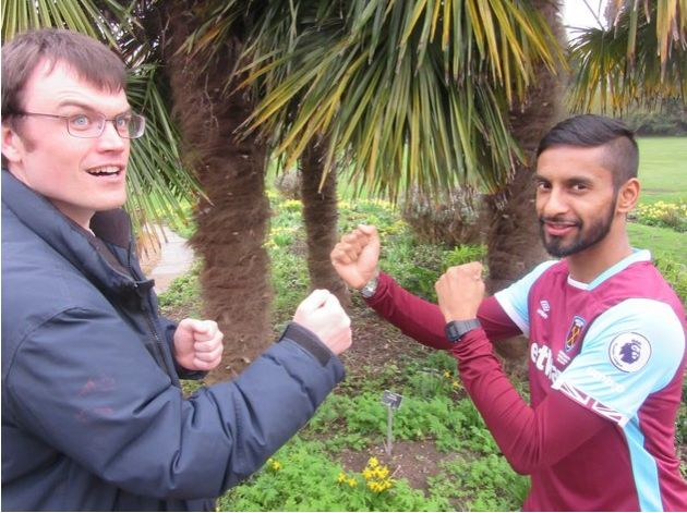Eric Monkman knocked cheeky chappy Bobby Seagull out of the competition in a hard fought semi-final