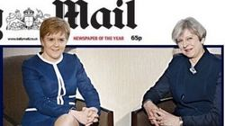 Daily Mail's 'Legs-it' Front Page Of Theresa May And Nicola Sturgeon Fuels