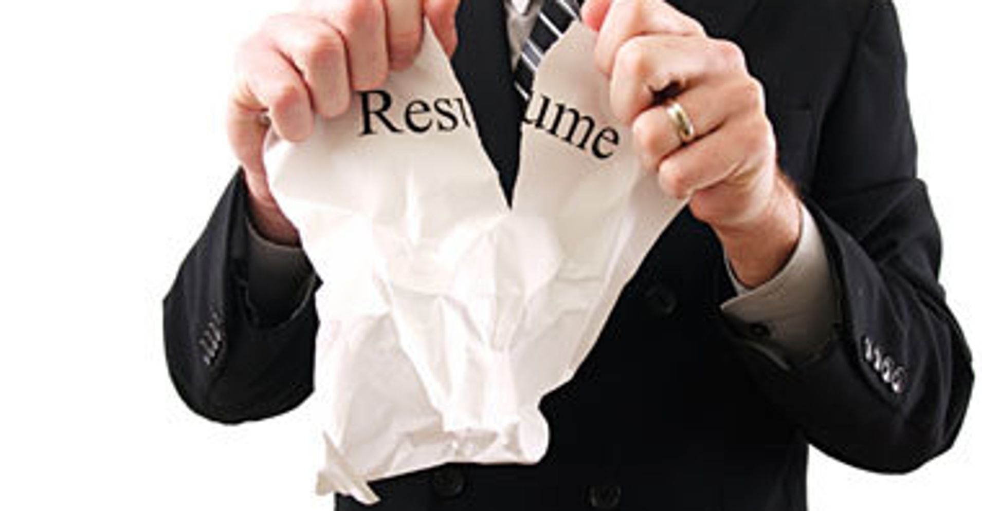 The Miserable Results of Lying Your Resume You'll Get Caught You Idiot