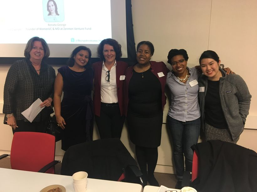 Investor Panelists at The Women Entrepreneurs and Investors Summit at Wells Fargo, San Francisco
