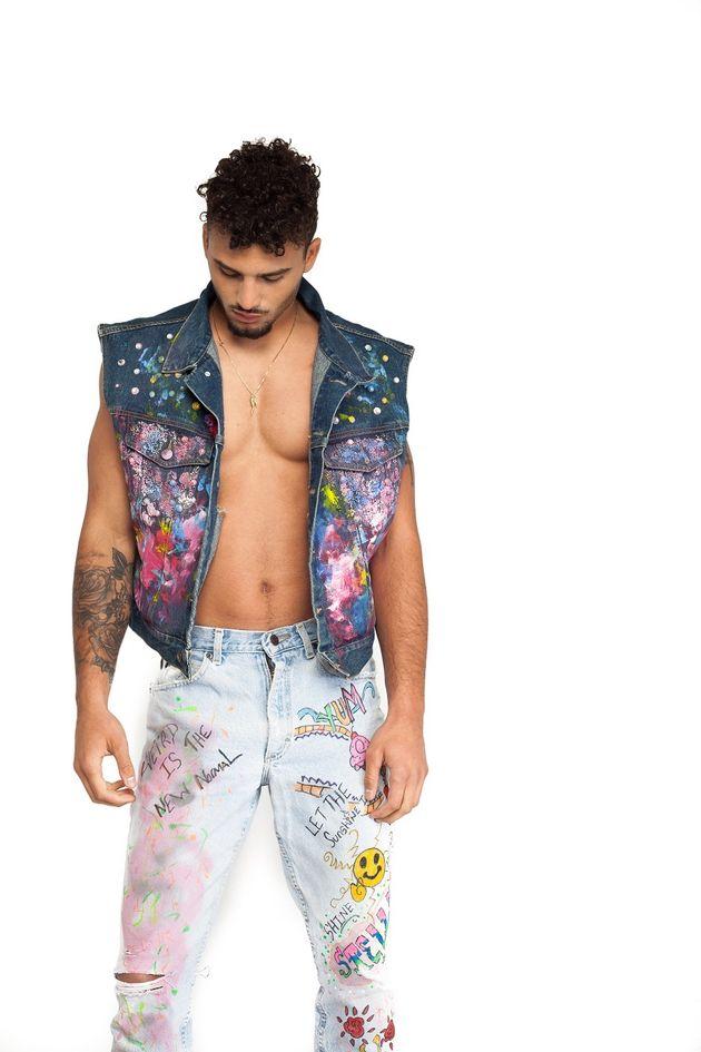 Kostuumvest Op Jeans.5 Ways To Wear Statement Denim Huffpost