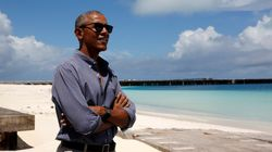 Obama Is Holed Up Writing His Book On The South Pacific Island Of