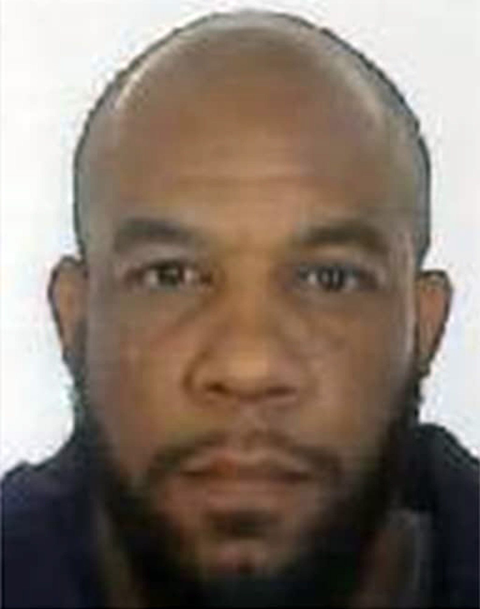 Undated Metropolitan Police handout photo of Westminster attacker Khalid