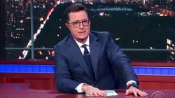 Stephen Colbert Slams Donald Trump's 'Bureau of Obvious