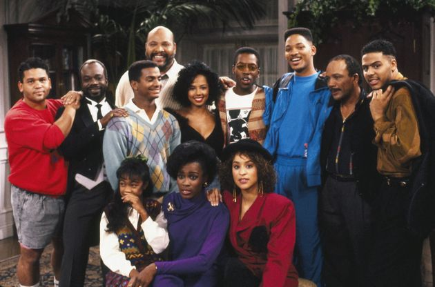 A publicity still from a 1990 episode of