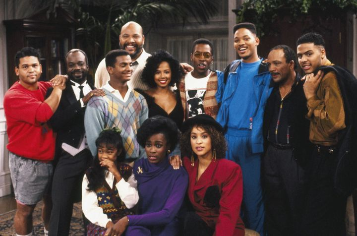 "A publicity still from a 1990 episode of ""The Fresh Prince of Bel-Air."""