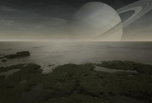 The Surface Of Saturn S Moon Titan Is Like Something Out
