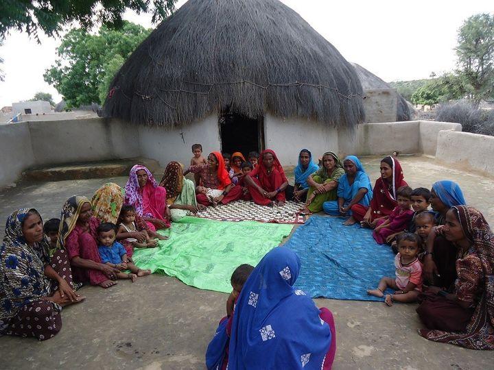 <em>Mothers meet in Sindh Province, Pakistan.</em>