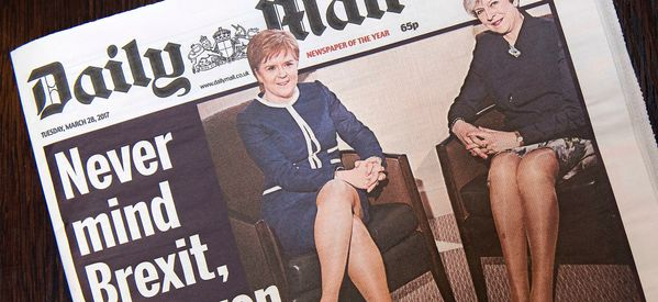 Mail Tells Critics To 'Get A Life' In Blistering Defence Of 'Legs-It' Front Page
