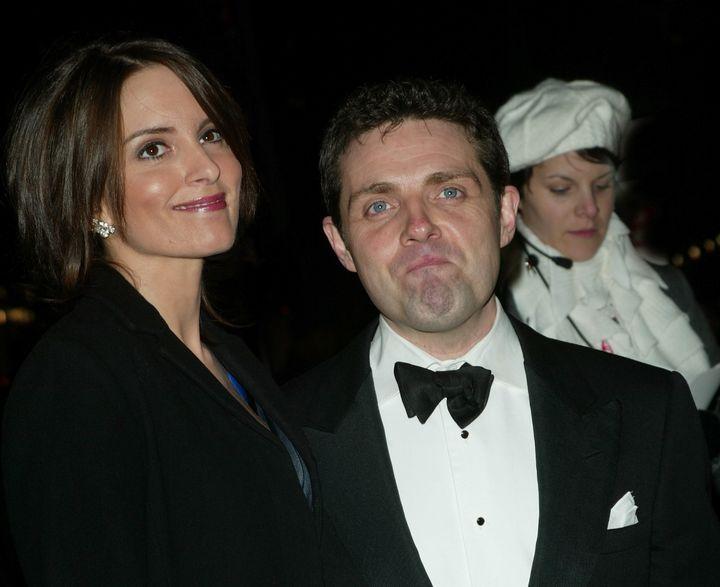 Tina Fey and husband Jeff Richmondat a benefit in 2003.