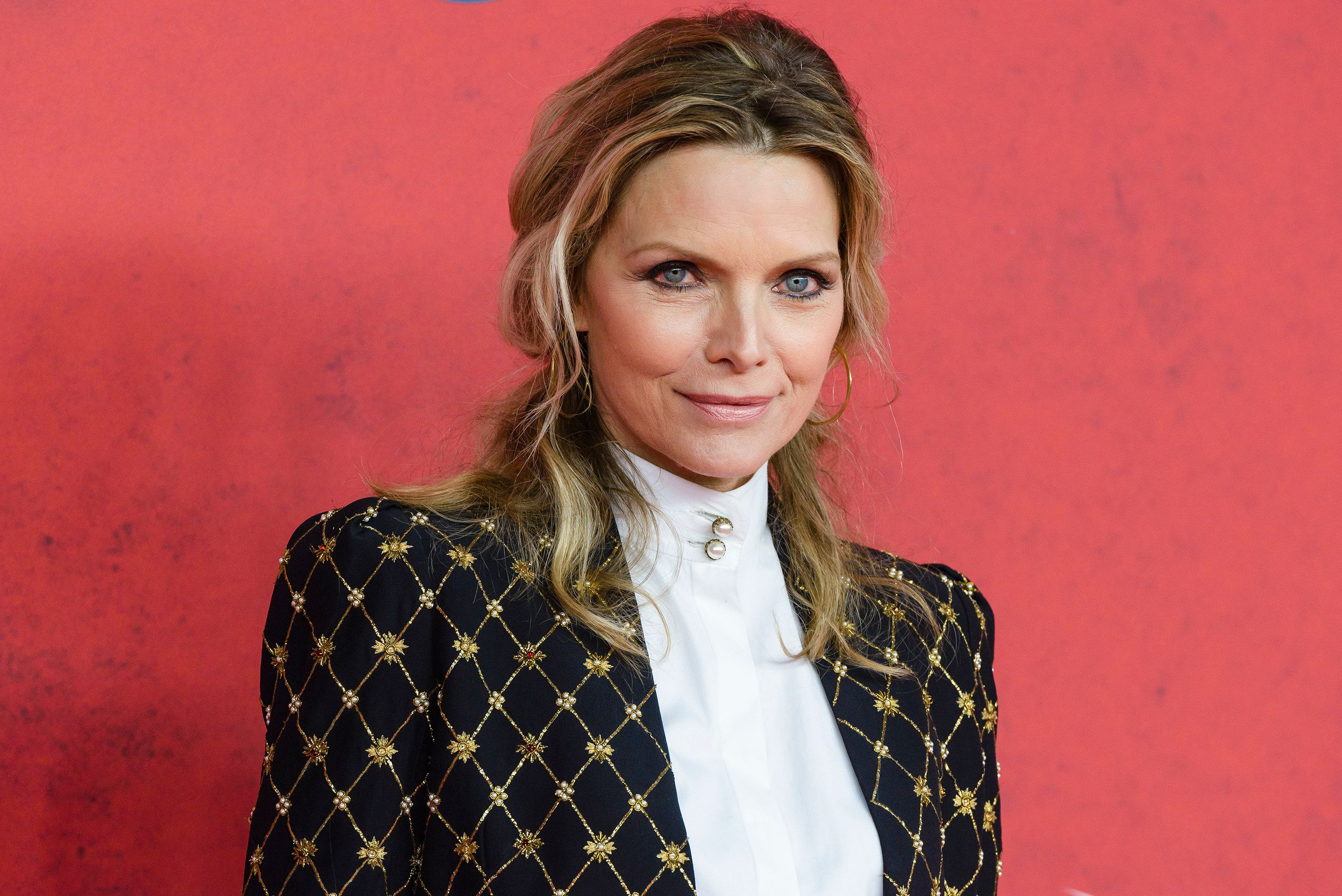 BERLIN, GERMANY - OCTOBER 15:  Michelle Pfeiffer attends the 'Malavita' premiere at Kino in der Kulturbrauerei on October 15, 2013 in Berlin, Germany.  (Photo by Clemens Bilan/Getty Images)