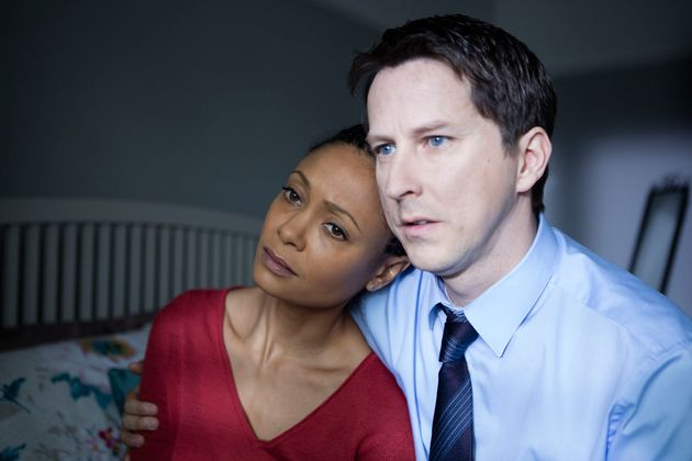 Lee Ingleby (above, right) stars with Thandie Newton in Series 4 of 'Line of