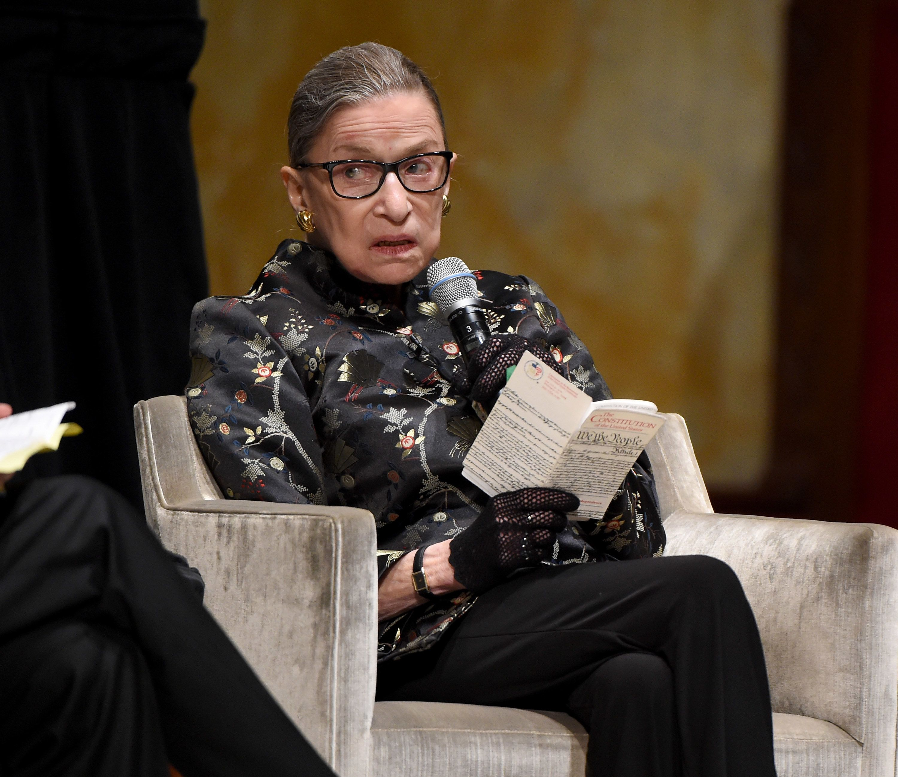 "Justice Ruth Bader Ginsburg criticized Texas for clinging to ""superseded standards when an individual's life is at stak"
