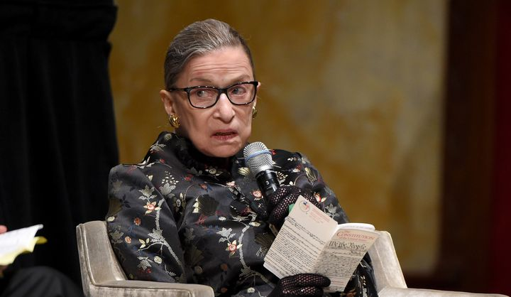 """Justice Ruth Bader Ginsburg criticized Texas for clinging to """"superseded standards when an individual's life is at stak"""