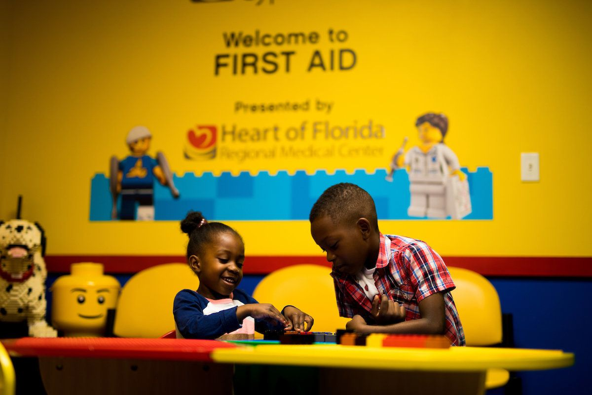"""Since 2016, Legoland Florida Resort has been working to implement features for guests with autism like """"quiet rooms."""""""