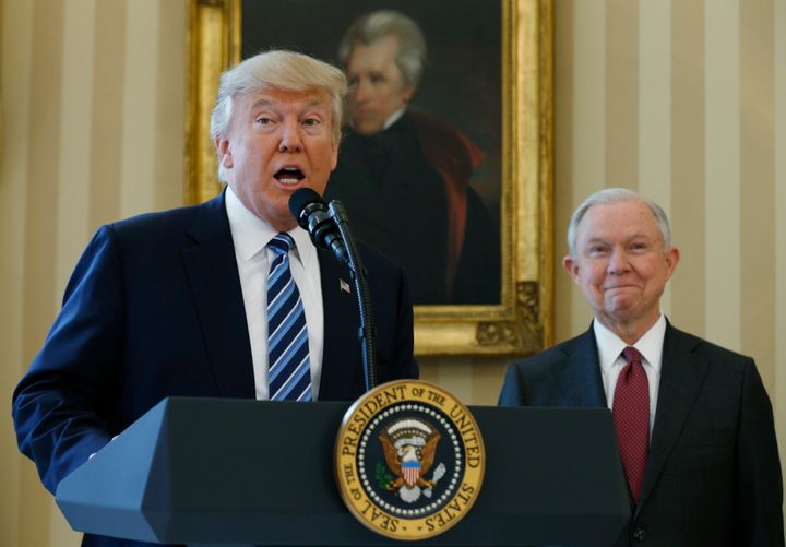 "President Donald Trump and Attorney General Jeff Sessions have railed against so-called ""sanctuary cities"" for years."