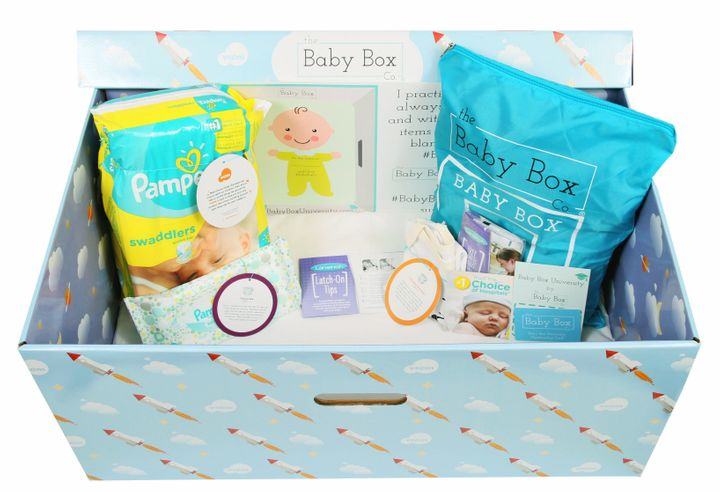 An example of what an Alabama baby box will look like.