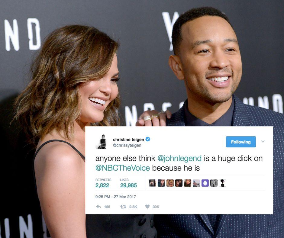 Not Even John Legend Is Safe From Chrissy Teigen's Trolling On