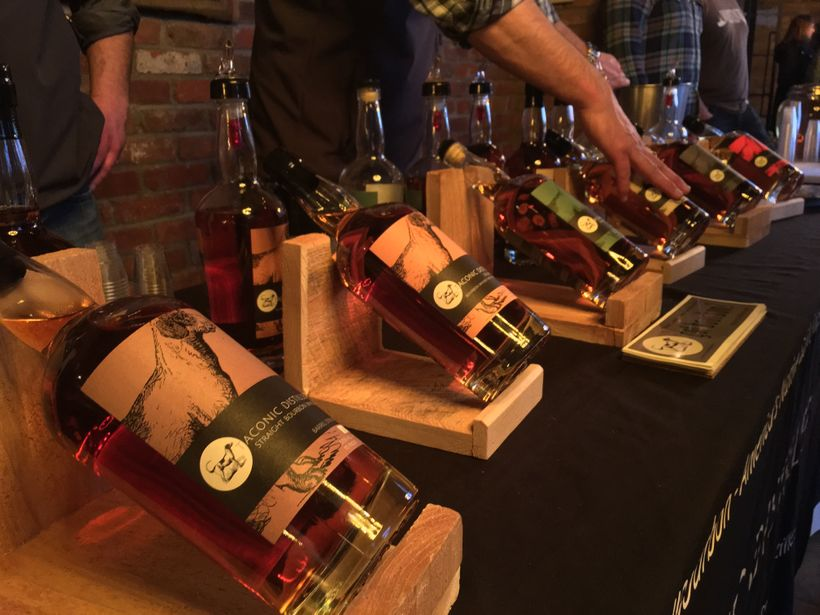 Whiskey & Bourbon tastings with Taconic Distillery
