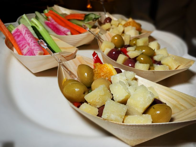 Cheese and olives and radishes, oh my!