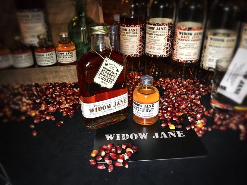 Smooth tastings of Widow Jane Bourbon Whiskey