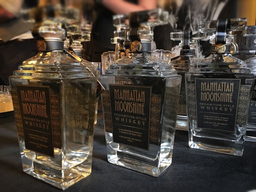 Manhattan Moonshine made a memorable impression with its standout award winning flavor