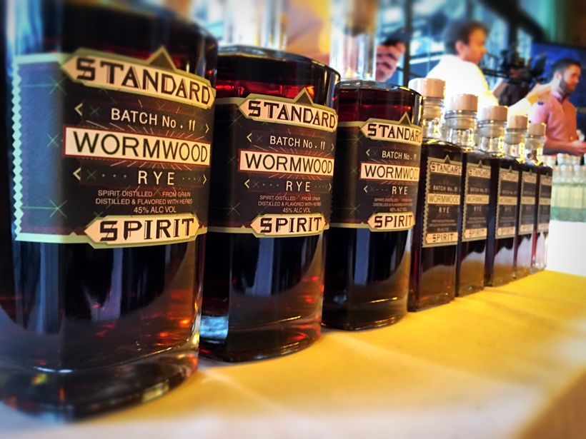 Tastings from Standard Wormwood Distillery