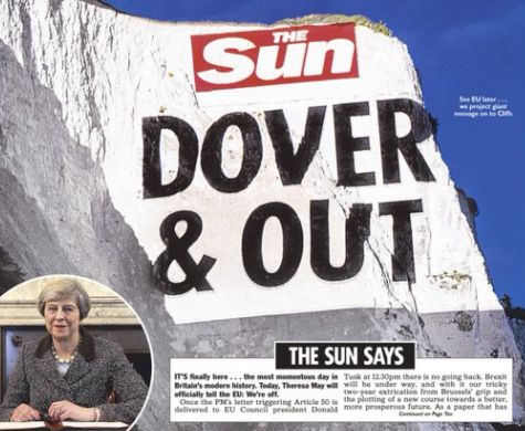 'Brexit Day' Front Pages Are Provoking A Whole Range Of Human