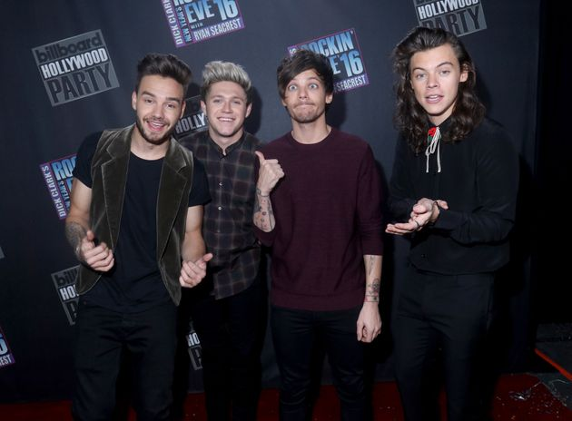 The remaining four members of 1D in