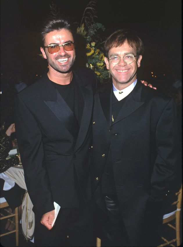 George Michael and Elton