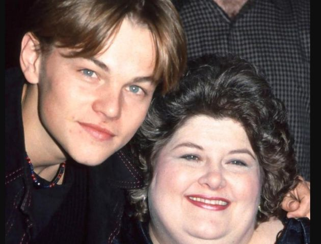 Leo with his 'Gilbert Grape' co-star Darlene Cates, who he paid tribute to, following her death on