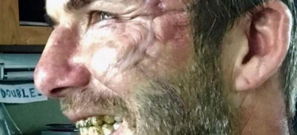 This Star Is Unrecognisable (And Just A Bit Scary) On The Set Of New Movie