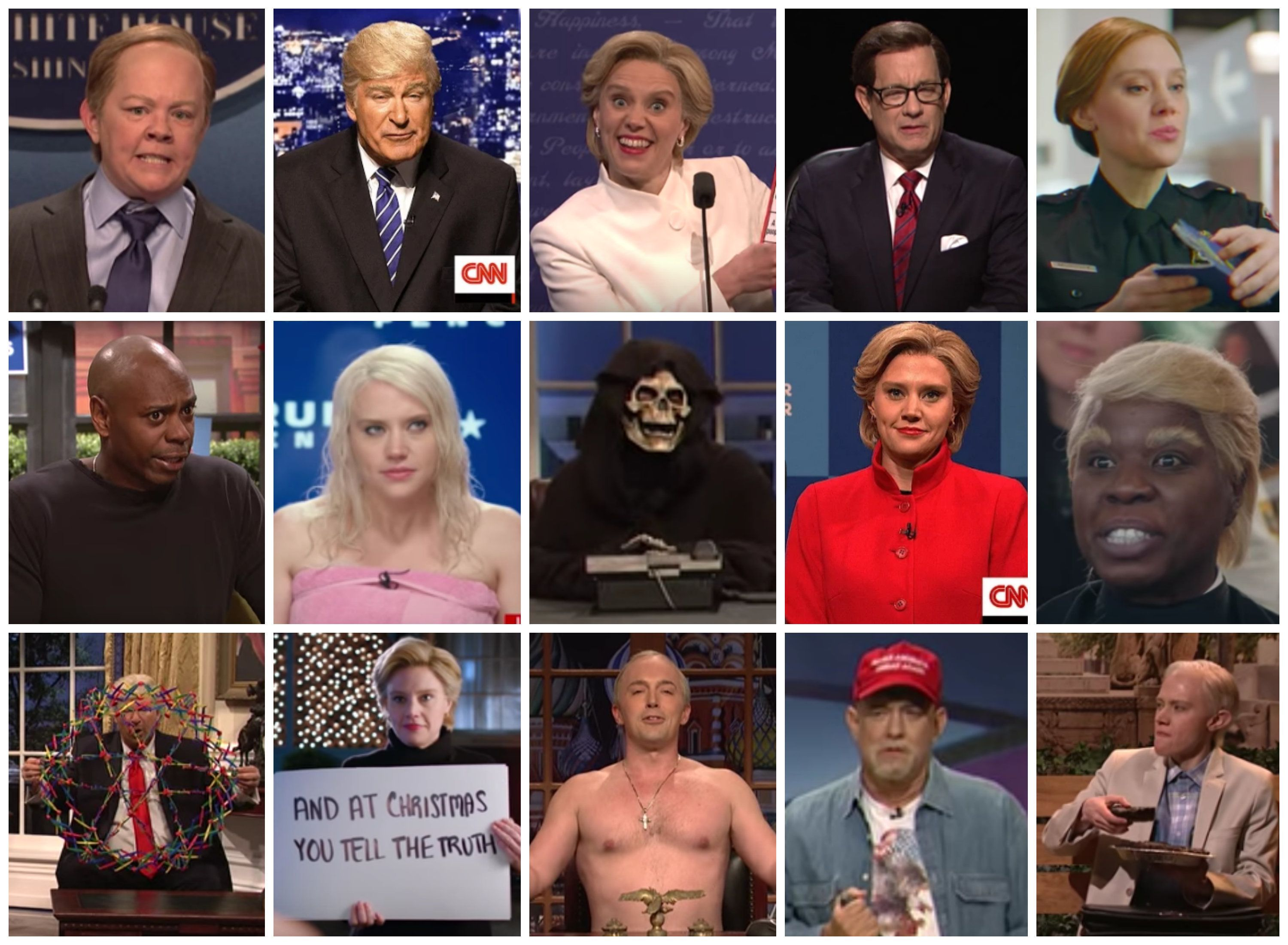 """Season 42 of """"Saturday Night Live"""" was filled with memorable sketches."""
