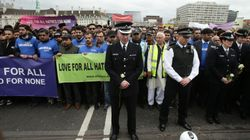 Hundreds Gather On Westminster Bridge One Week After London