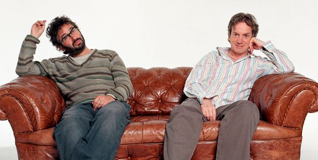 David Baddiel and Frank Skinner relished the spontaneous nature of their
