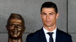 Madeira Airport's New Bust Of Cristiano Ronaldo Looks Nothing Like