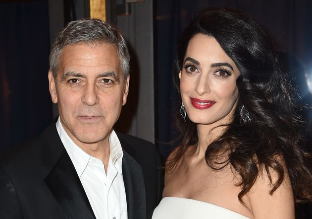 George Clooney Reveals The Baby Names Amal Has