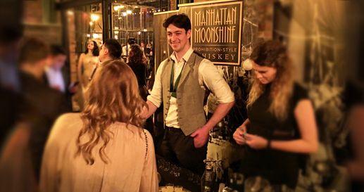 Award Winning Manhattan Moonshine at the NYC Craft Distillers Festival